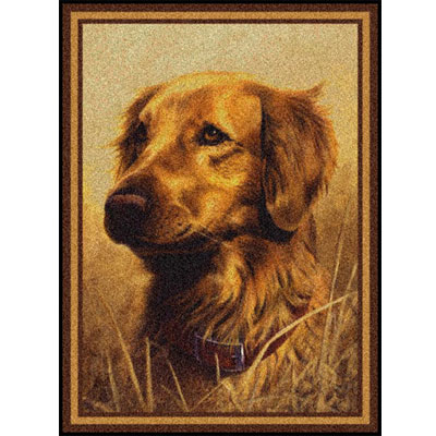 Milliken Hautman Collection 4 x 5 Golden Retriever 534714/200/75070