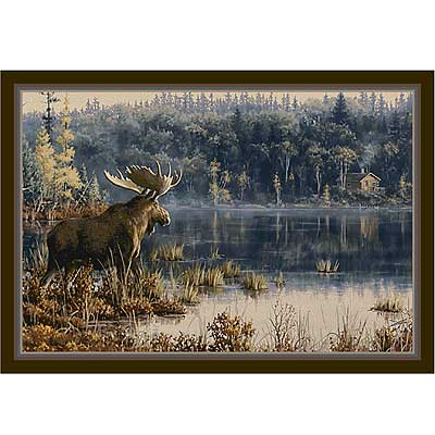 Milliken Hautman Collection 4 x 5 Lake Moose 534714/200/73926