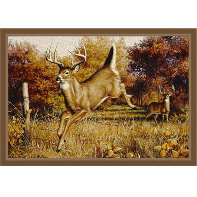Milliken Hautman Collection 4 x 5 Leaping Deer 534714/200/66228