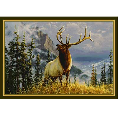 Milliken Hautman Collection 4 x 5 Mountain Elk 534714/200/66229