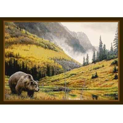 Milliken Hautman Collection 4 x 5 Mountain Grizzly 534714/200/37177