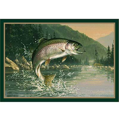 Milliken Hautman Collection 4 x 5 Rainbow Trout 534714/200/50338