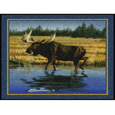Milliken Hautman Collection 4 x 5 Wading Moose 534714/200/75065