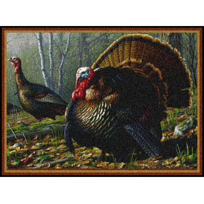 Milliken Hautman Collection 4 x 5 Woodland Turkey 534714/200/75064