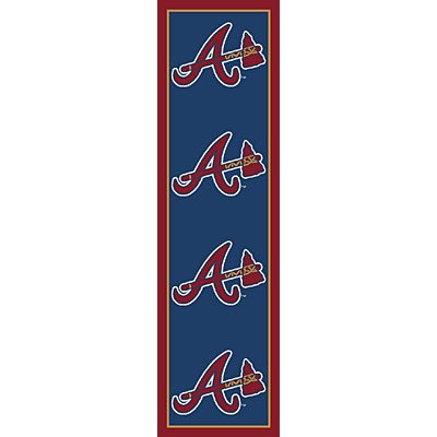 Milliken Atlanta Braves 2 x 8 Runner Atlanta Braves Runner 533324/217/1102