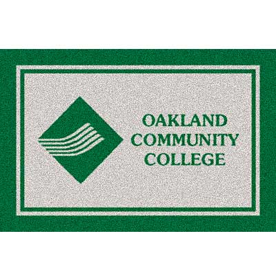Milliken Oakland Community College 3 x 4 Oakland Community 533284/74594/234