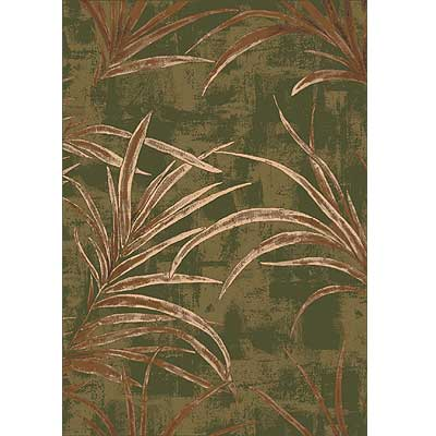 Milliken Rainforest 3 x 4 Deep Olive 7428/234/00077