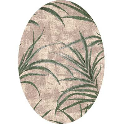 Milliken Rainforest 4 x 5 Oval Alabaster 7428/293/00025