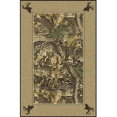 Milliken Realtree Collection 3 x 4 Timber Solid Border 534711/234/74041
