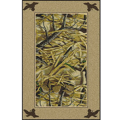 Milliken Realtree Collection 3 x 4 Wetlands Solid Border 534711/234/74038