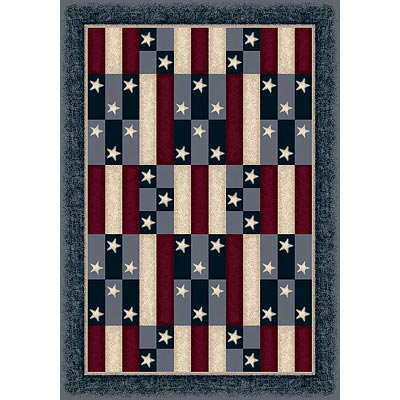 Milliken Seasonal - Summer 3 x 4 American Patchwork 4951/234/7350