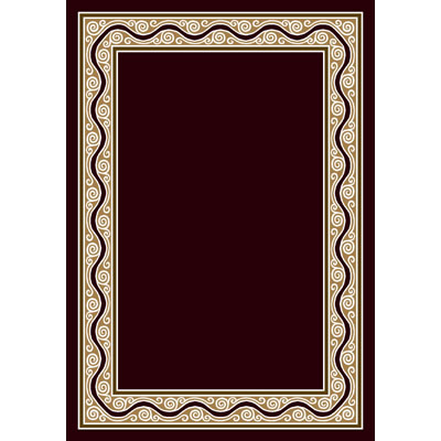 Milliken Havana 4 x 5 Oval Dark Chocolate 4089/293/10110