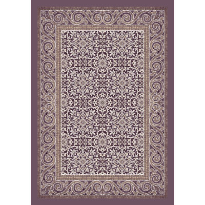 Milliken Italian Court 8 x 8 Square (Dropped) Amethyst 4420/297/7900