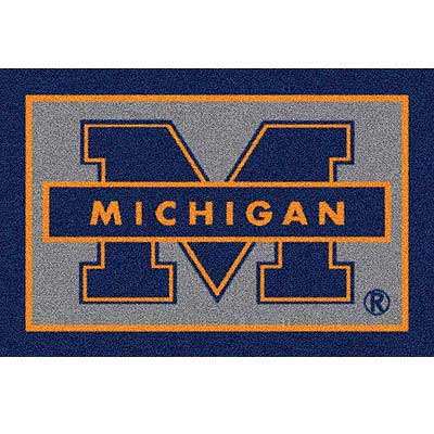 Milliken University of Michigan 3 x 4 University Michigan 533284/74238/234