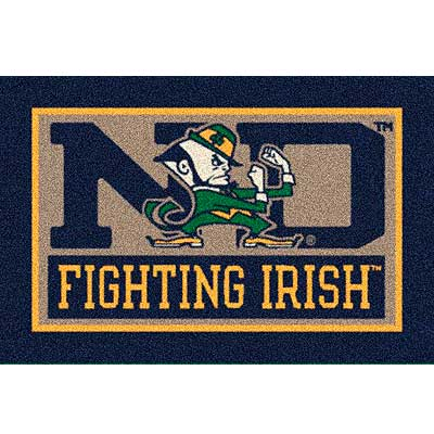 Milliken My Team College - University of Notre Dame 5 x 8 U Notre Dame 533284/45882/201