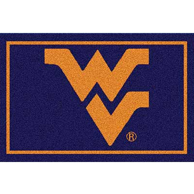 Milliken My Team College - Univ. of West Virginia 5 x 8 Univ. of West Virginia 533284/79130/201