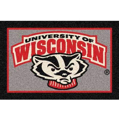 Milliken My Team College - University of Wisconsin 5 x 8 University Wisconsin 533284/79361/201