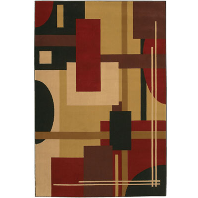 Mohawk Decorators Choice 5 x 8 Rendition Crimson 58039-11319