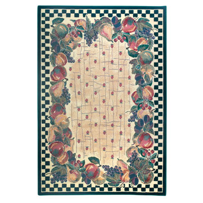 Mohawk Duo Weave/Beau Solei 5 x 8 Country Fruit 544-235