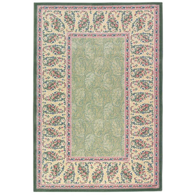 Mohawk Hampshire 8 x 11 Paisley Meadow Vintage Green 5708-384