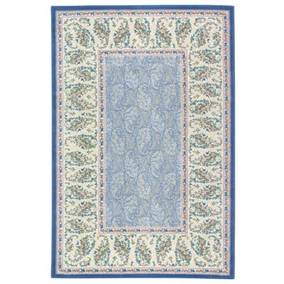 Mohawk Hampshire 5 x 8 Paisley Meadow Wild Blue 5708-385