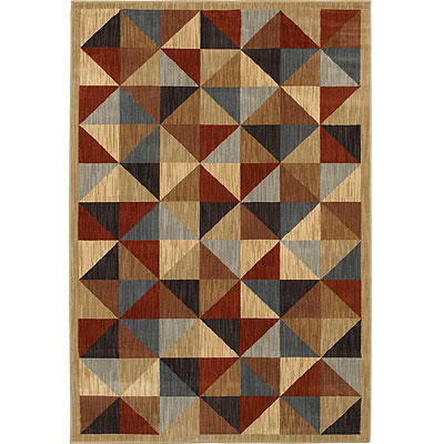 Mohawk Six Star 8 x 11 Parquetry Blue Berry 5923-420