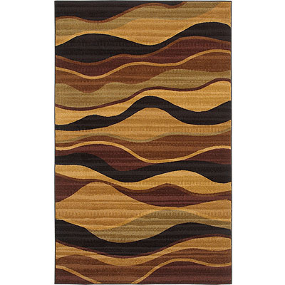 Mohawk Textura Collection 5 x 8 Strata Earth 10580-452