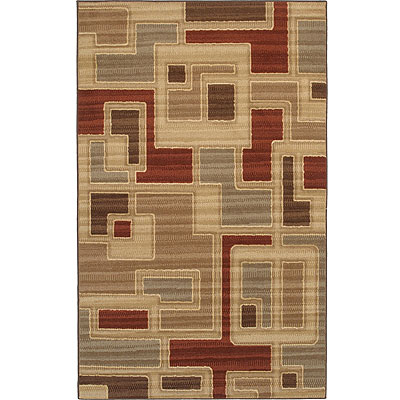 Mohawk Textura Collection 5 x 8 Windam Tan 10752-429