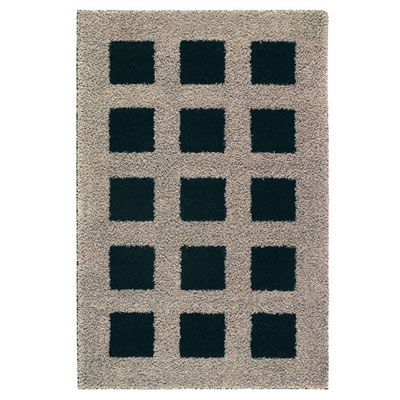 Mohawk Urban Retreat 4 x 6 Blocks Oyster Black 6160-11289