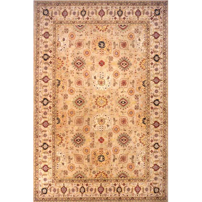 Momeni, Inc. Agra 8 x 11 Agra Antique Green AG-09