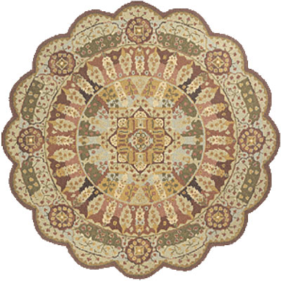Momeni, Inc. Antique Empire 8 x 8 Scallop Assorted 99200