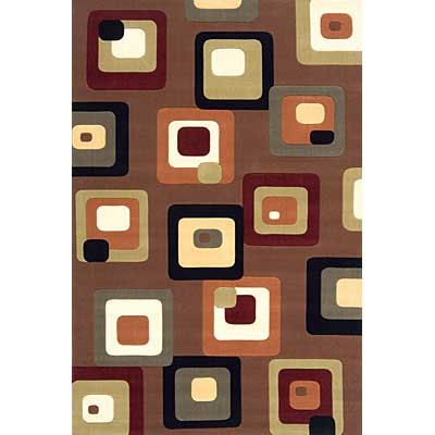 Momeni, Inc. Elements 2 x 3 Elements Brown 96579