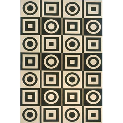 Momeni, Inc. Elements 2 x 3 Elements Black 98973
