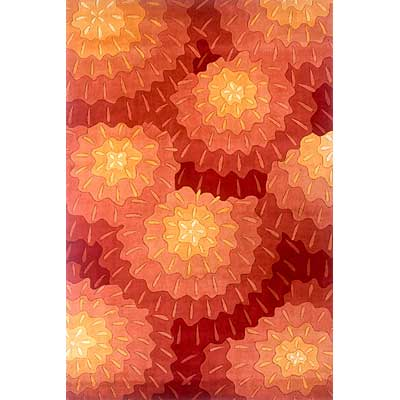 Momeni, Inc. New Wave 5 x 8 New Wave Orange NW-069