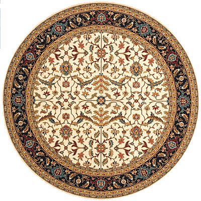 Momeni, Inc. Persian Garden 8 Round Charcoal PG-04