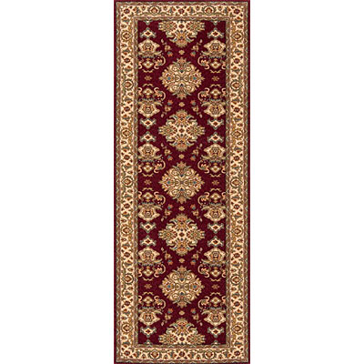 Momeni, Inc. Persian Garden 2 x 8 Runner Burgundy PG-01