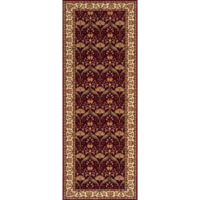 Momeni, Inc. Persian Garden 2 x 8 Runner Burgundy PG-12