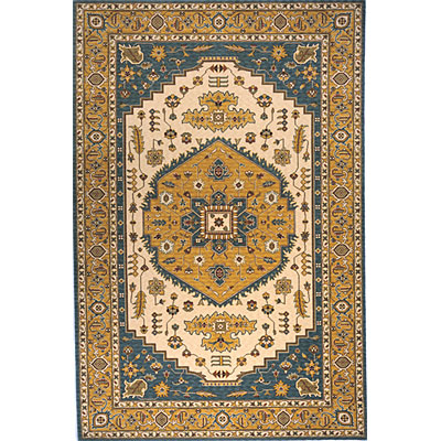Momeni, Inc. Persian Garden 10 x 13 Teal Blue PG-03