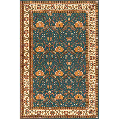 Momeni, Inc. Persian Garden 2 x 3 Teal Blue 12187