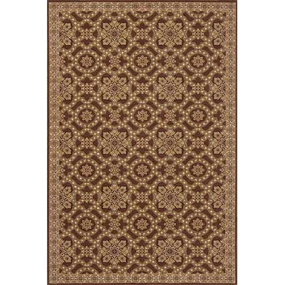 Momeni, Inc. Sutton Place 3 x 8 Runner Brown SU-13