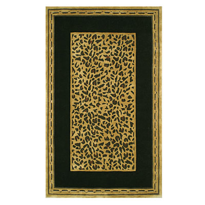 Nejad Rugs African Safari 8 x 11 Cheetah Gold/Black WK004 GOBK