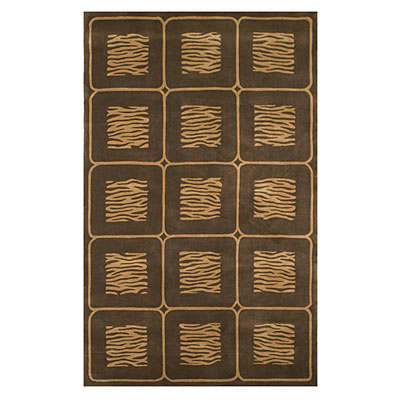 Nejad Rugs African Safari 8 x 11 Animal Magnetism Beige/Brown WK008 BGBN