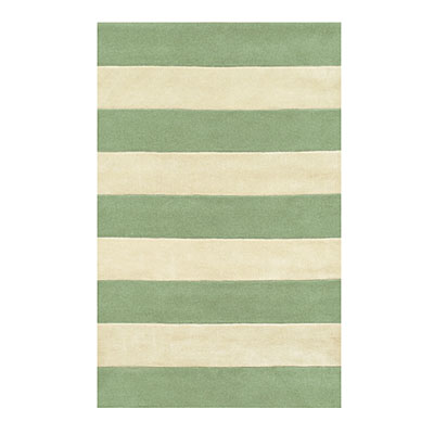 Nejad Rugs Boardwalk Stripes 5 x 8 Seaform/Ivory AT064 SFIY