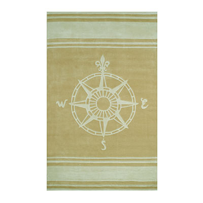 Nejad Rugs Classic Compass 8 x 11 Sand AT075 SDIY