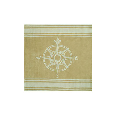 Nejad Rugs Classic Compass 8 Square Sand AT075 SDIY