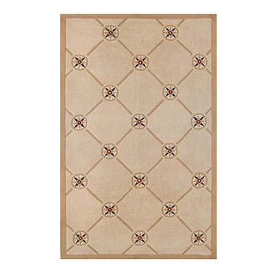 Nejad Rugs Compass 8 X 11 IVORY/SAND AT037 IYSD