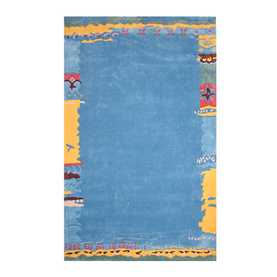 Nejad Rugs Ocean Shores 4 x 6 Light Blue AT004