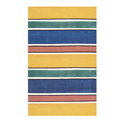 Nejad Rugs Ocean Stripes 5 X 8 BRIGHTS AT036 BTS