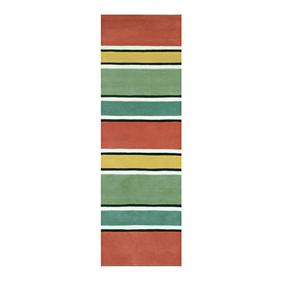 Nejad Rugs Ocean Stripes 3 x10 Runner HOT AT036 HOT