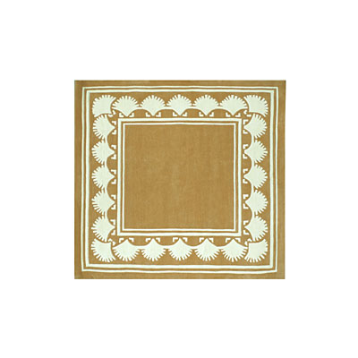 Nejad Rugs Shell Border 5 Square PEACH AT038 PH